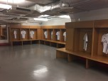 Real dressing room