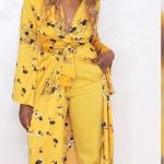 Tiwa Savage Dazzle In Yellow At The City People Awards