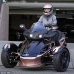 Blac Chyna Returns Rob Kardashian's Ferrari And Gets A Motorcycle