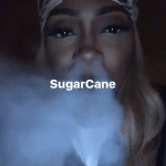 Tiwa Savage Puffs Shisha Like A Pro