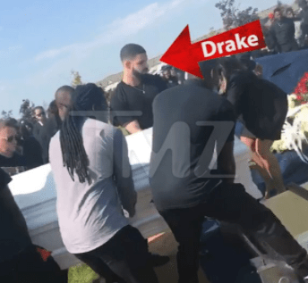 Drake buries his longtime friend, Fif, who was shot to death in Toronto