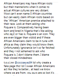 Lol. PSquare break up news causes culture war between Africans and Black Americans online