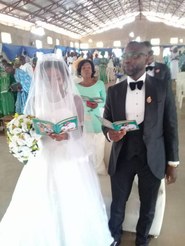 Photos from the White Wedding of Assistant Commissioner of Police, Abayomi Shogunle