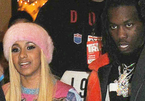 Cardi B and boyfriend Offset photographed holding hands on the streets of New York