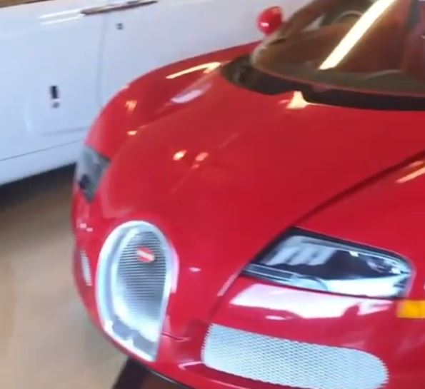 Floyd Mayweather shows off his personalised private jet, diamond-encrusted watch and ?2m supercar collection (Photos)