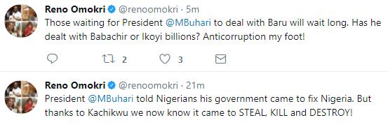 Nigerians react to the face-off between Ibe Kachikwu and NNPC GMD, Maikanti Baru