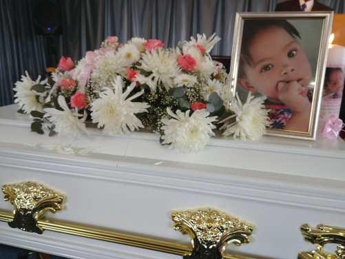 """""""The smallest coffins are the heaviest"""": Tears roll as 4-year-old girl brutally raped and murdered in South Africa, is laid to rest (photos)"""
