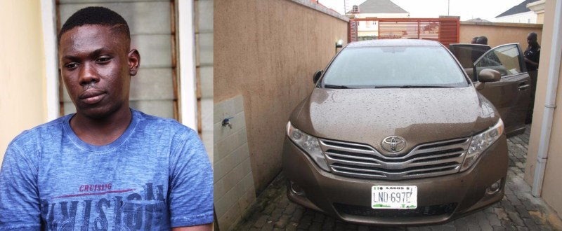 Photos: EFCC arrests four school dropouts for defrauding American and European citizens of millions of dollars