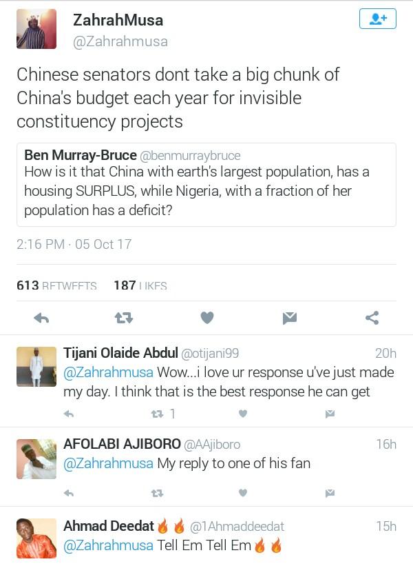 Chinese senators don