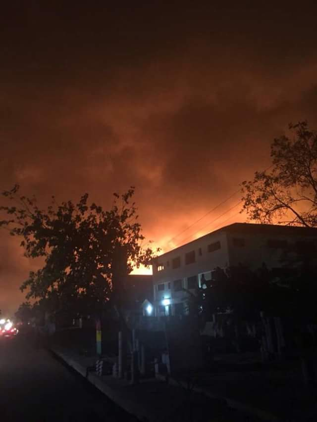 Photos: Six killed, 35 injured in explosions at gas station in Ghana