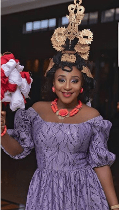 Photos: Ini Edo stuns in traditional outfit