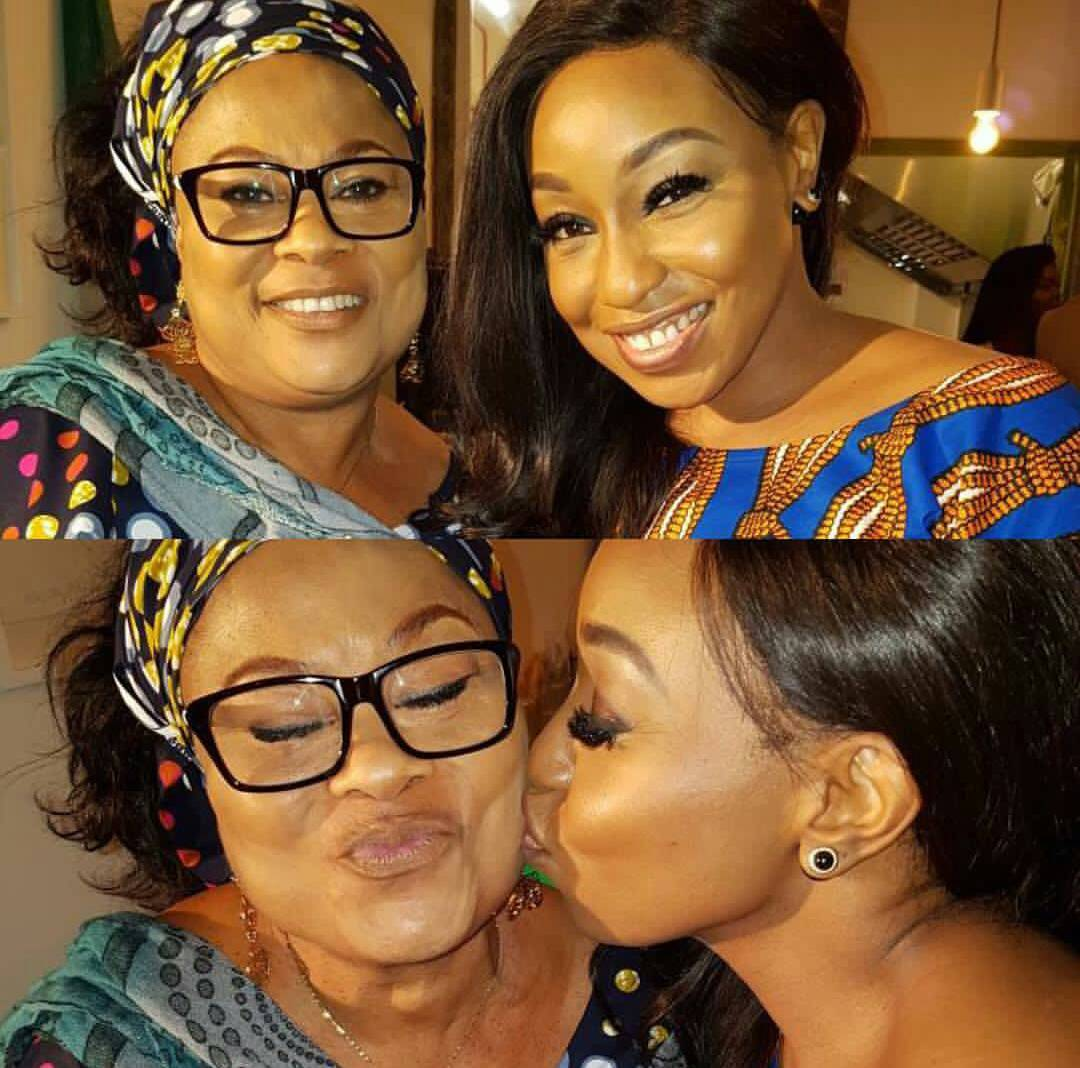 Lovely photos of Rita Dominic and Sola Sobowale
