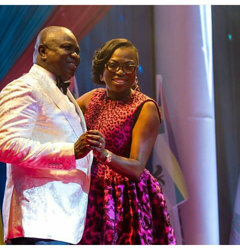 God endowed me with a prayer warrior in the person of my wife - Governor Ambode praises the first lady