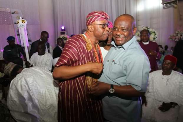 Photos: Wike, Fayose, others at the traditional wedding of former Ondo Governor Mimiko