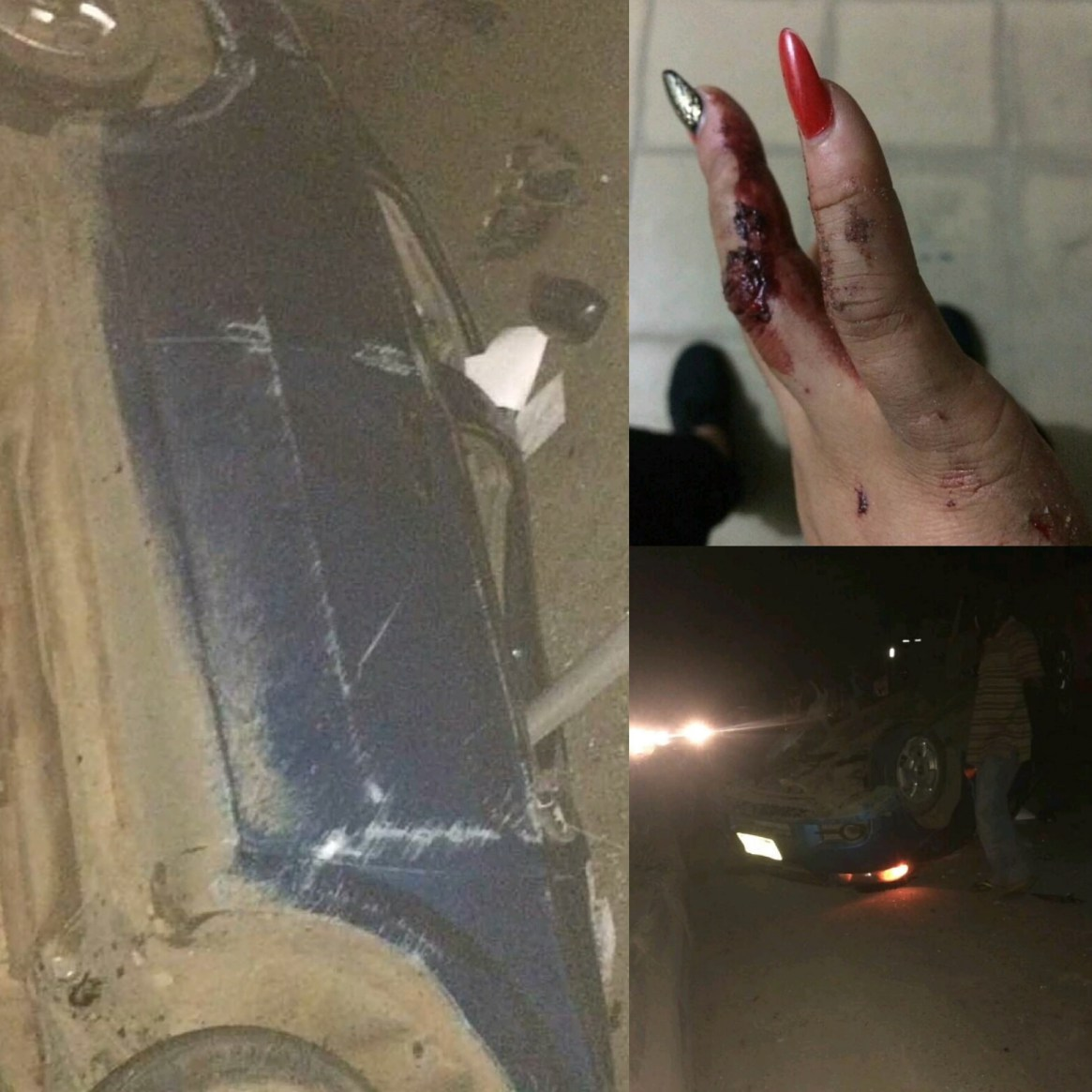 Post & Delete: Rosaline Meurer survives ghastly accident, shares photo of the damaged car and says God will flog her enemies