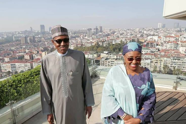 Photos: President Buhari returns to Abuja after attending the D-8 meeting in Turkey