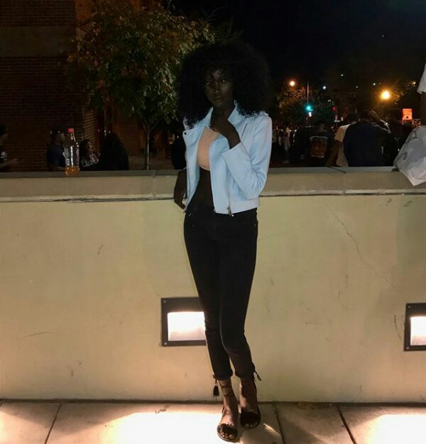 Photos: Melanin goddess! Check out this Sudanese beauty with gorgeous dark skin