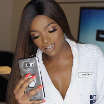 Annie Idibia is an ebony beauty in new makeup photos