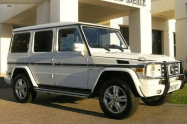 Image result for Man impregnates Another man's wife, gifts him a Mercedes G class