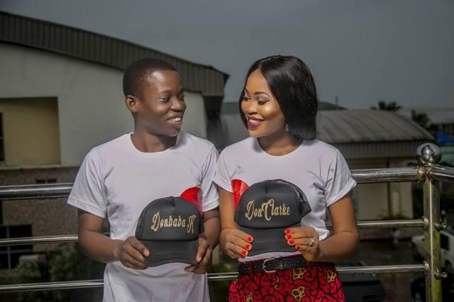 Beautiful pre-wedding photos of young Nigerian couple