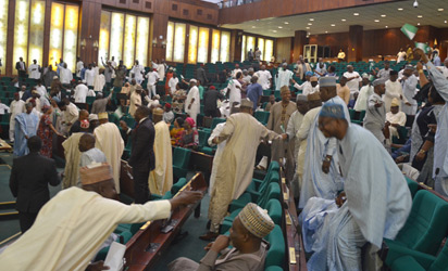 House of Reps in rowdy session over President Buhari?s letter on Budget presentation