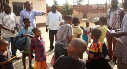 Police rescued 30 children from kidnapper