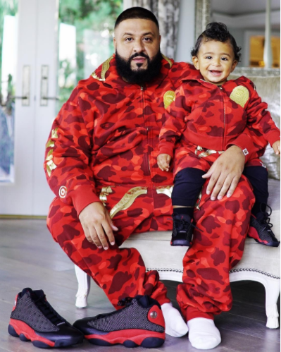 DJ Khaled and his son are twinning again and as always, Asahd killed it