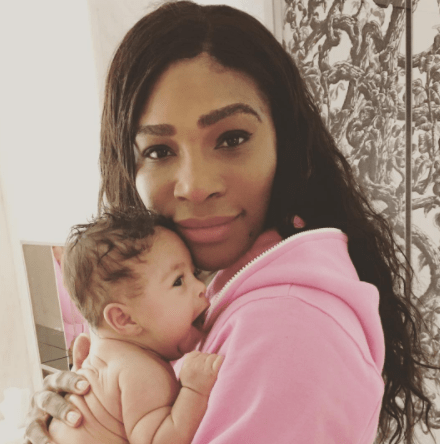 Serena Williams shares new photo with her cute baby girl, Alexis Jnr
