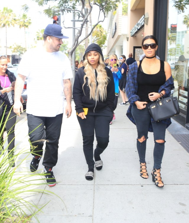 Blac Chyna drops her lawsuit against Kourtney, Khloe, Kylie and Kendall, but is still suing Kim and Kris for