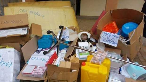 Photos: 58-year-old Ugandan nurse arrested for stealing government hospital equipment