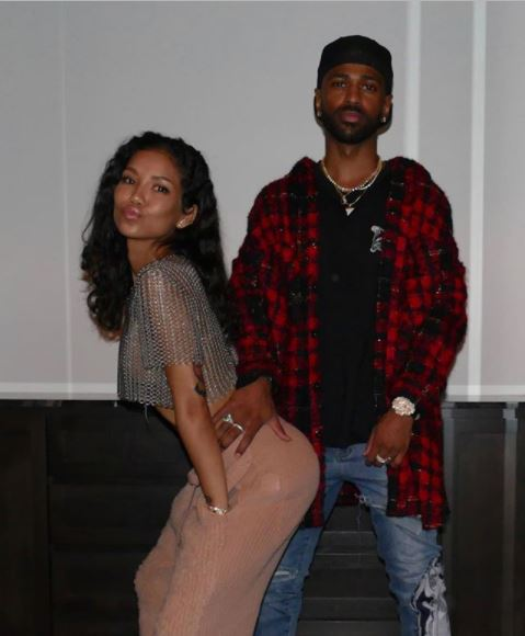 Jhene Aiko shares lovely photos of her man Big Sean grabbing her?ass