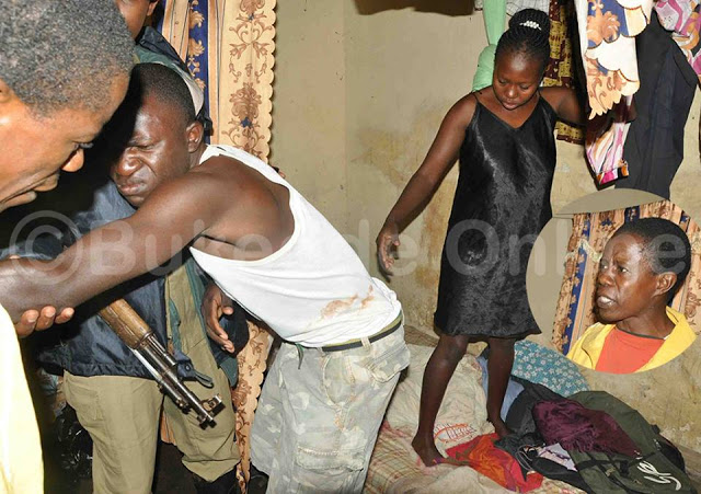 Pandemonium as man catches wife with her lover on their matrimonial bed in Uganda (Photos)