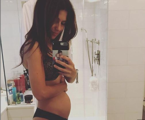 Hilaria Baldwin is expecting her 4th child in 4 years (Photos)
