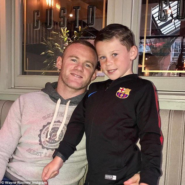 Wayne Rooney shares another sweet snap with son Kai amid reports he has