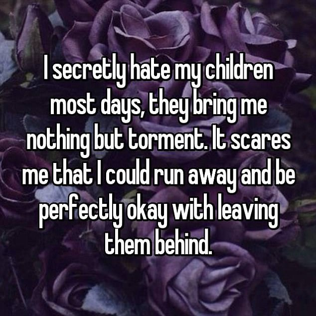 Parents reveal why they secretly hate their own children and some of the reasons are shocking