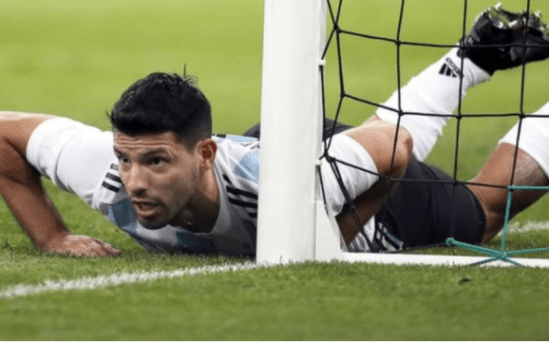 Sergio Aguero taken to the hospital after collapsing in the dressing room following Nigeria
