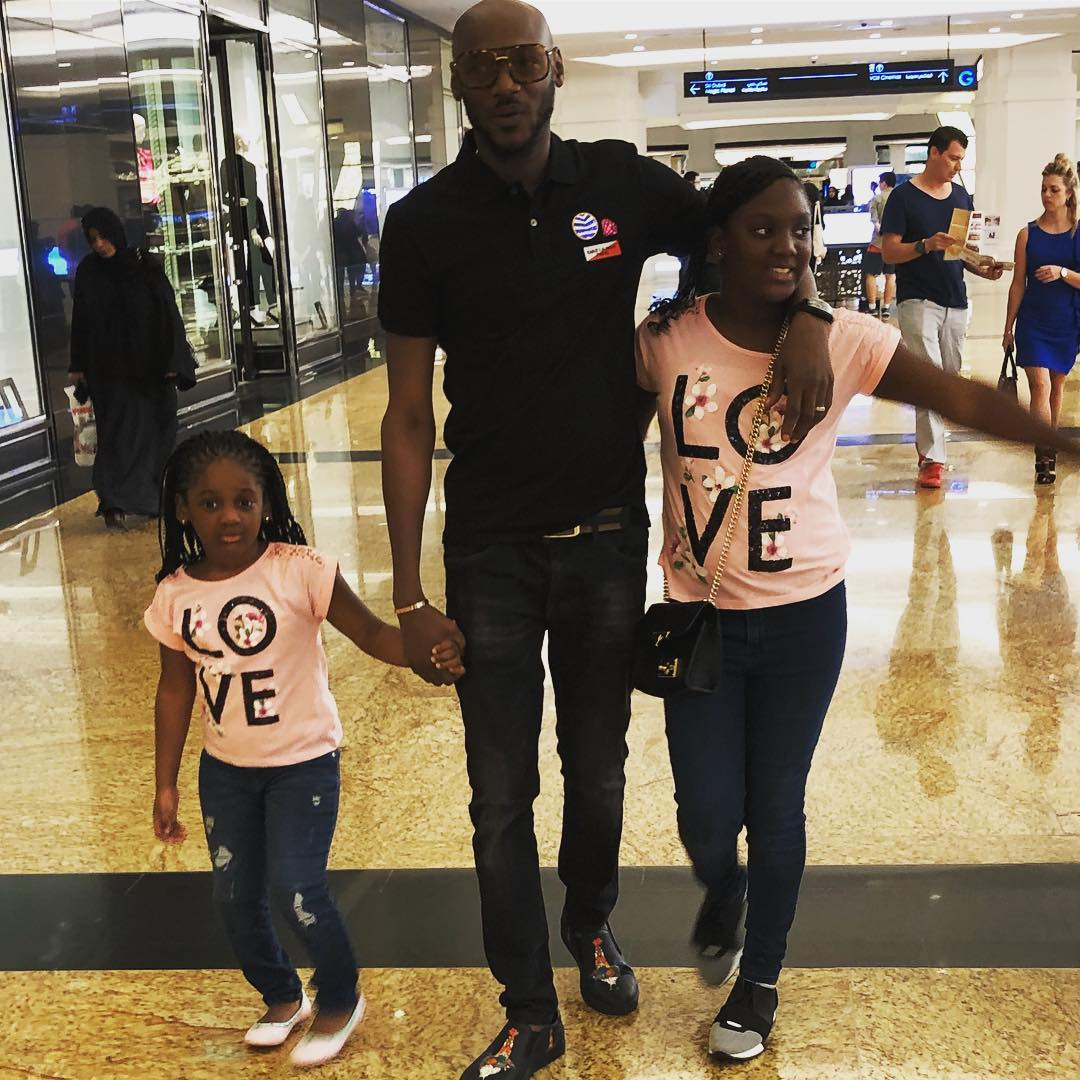 2face Iidbia, wife Annie and their kids in lovely family snaps taken in Dubai