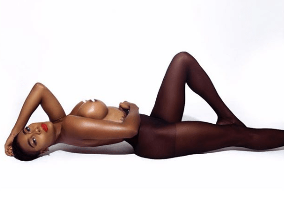 Nigerian Supermodel Faith Morey Strip Completely Naked For New Photo
