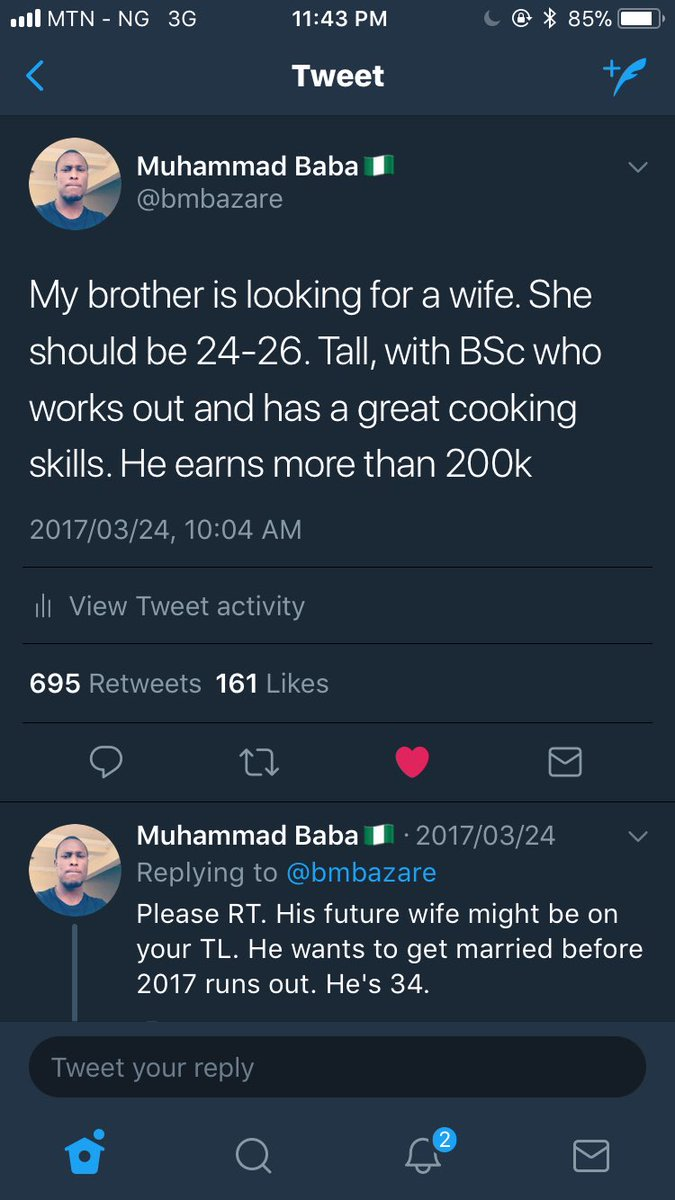 Twitter love stories: Young lady reaches out to man searching for a wife for his brother, they meet & are now getting married!