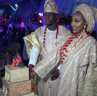 Photos from the wedding of Super Eagles striker, Anthony Ujah