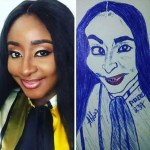 Check Out This Drawing of Actress,Ini Edo