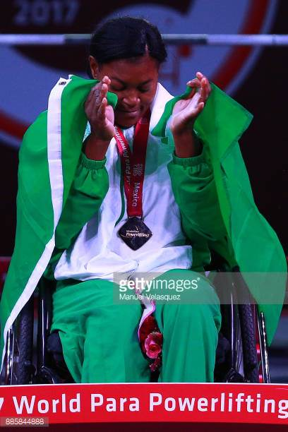 Nigerian female weightlifter, Alice Oluwafemiayo breaks world record at Para Powerlifting Championships in Mexico