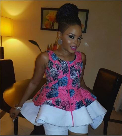 Chidinma Ekile flaunts her stunning dress to?Muni Festival in Equatorial Guinea (Photos)
