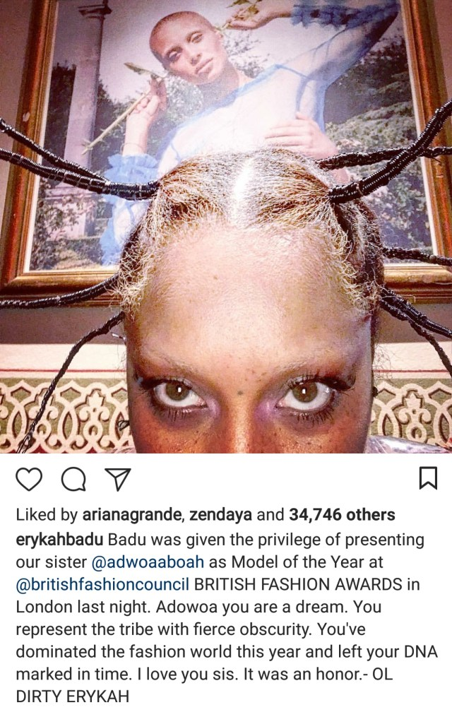 Check out Erykah Badu