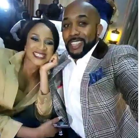 Photo: Banky W and Adesua make their first post wedding appearance at an event in Lagos