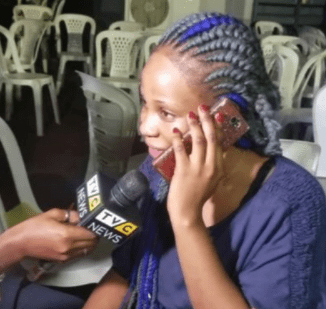 Video: Watch the emotional moment one of the Libya returnees spoke to her mum on phone