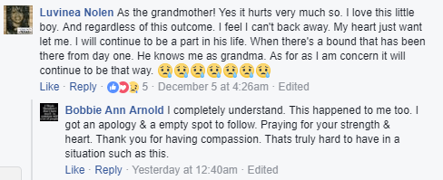 Grandmother says she will continue to be a part of her 6 year-old grandson
