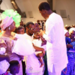 Photos From Paul And Anita Okoye's Child 'Twins' Dedication