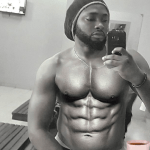 Uti Nwachukwu Shares Ripped Photo