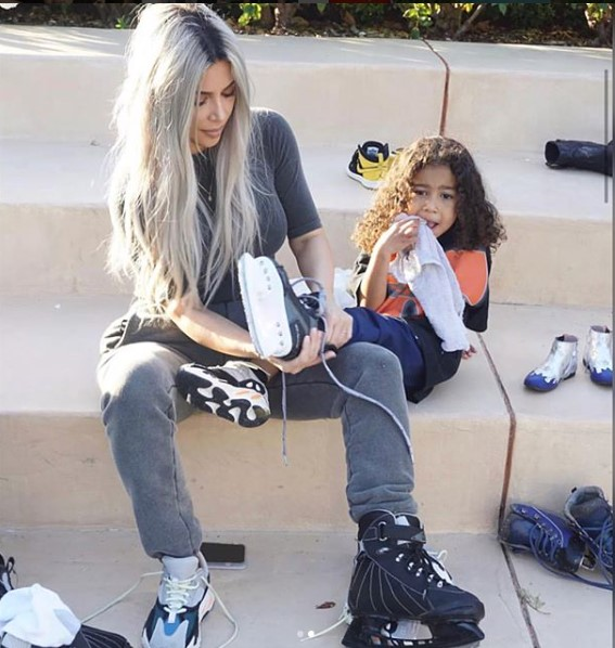 Kim Kardashian and her kids celebrate Mason and Reign